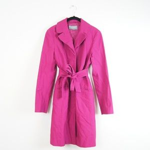 Ann Taylor | Pink/Purple Trench Coat